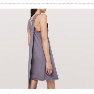NWT LULULEMON Early Morning Dress Graphite Purple